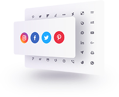 Social Media Icons - Display perfect social icons on your website